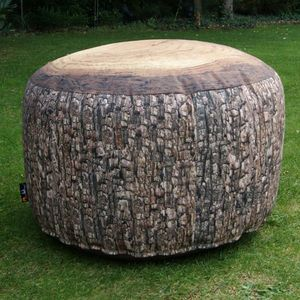 MEROWINGS - forest stump outdoor - Pouf