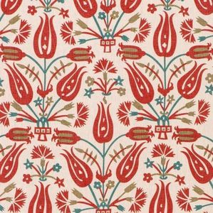 Vaughan - sivas printed linen - Tissu D'ameublement