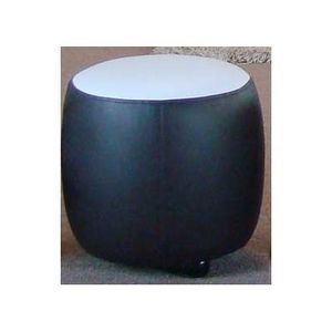 International Design - pouf bicolore rond - Pouf