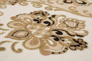 NAZAR - tapis empera 80x300 beige - Tapis Contemporain