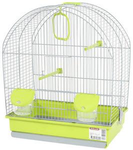 ZOLUX - cage oiseaux paris verte 41x25.5x48cm - Cage À Oiseaux