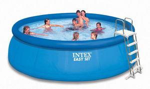 INTEX - piscine autoportante intex avec pompe filtre et ec - Piscine Gonflable