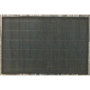 ILIAS - lot de 4 sets de table bambou noir - Set De Table
