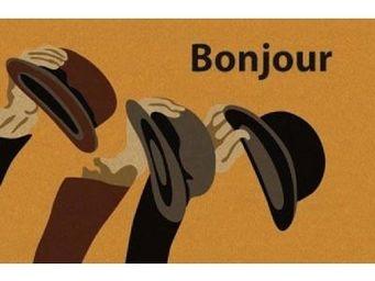 ILIAS - paillasson bonjour chapeau - Paillasson