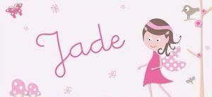 BABY SPHERE - jade - Plaque De Porte Enfant