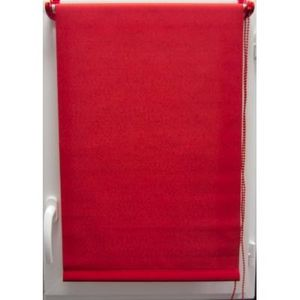 Luance - store enrouleur tamisant 45x180 cm rouge - Store Occultant