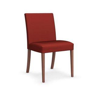Calligaris - chaise latina low de calligaris en hêtre et tissu - Chaise