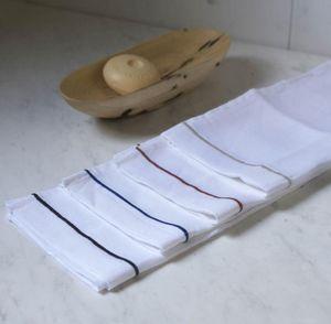 A CASA BIANCA - natural toilet set /4unit - Serviette Invité