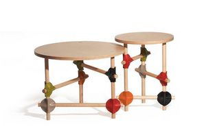 ALESSANDRO ZAMBELLI Design Studio - barrage - Table Basse Ronde