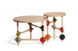 ALESSANDRO ZAMBELLI Design Studio - barrage - Table Basse Ronde