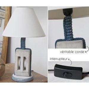 ICD COLLECTIONS - poulie - Lampe À Poser