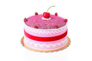 ROSSO CUORE - fancy cake alla lavanda colore rosa - Parfum D'intérieur