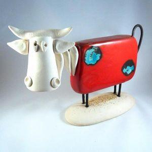 BLEU CALADE -  - Sculpture Animalière