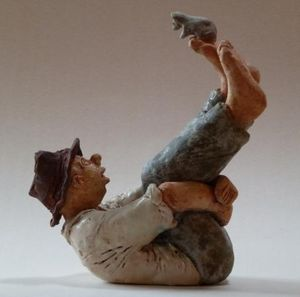 ELISABETH BOURGET -  - Figurine