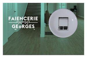 FA�ENCERIE GEORGES - CAROLE DUMONT -  - Assiette Plate