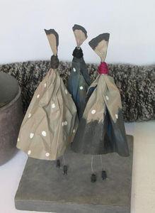 BOUTEILLET ISABELLE COBALT -  - Sculpture