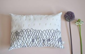 ANNE FONTAIMPE -  - Coussin Rectangulaire
