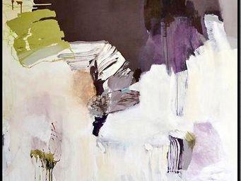 VERSION - de violet de blanc - Tableau Contemporain