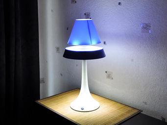 ALTHURIA - lampe en lévitation althuria pureline bleue - Lampe À Poser