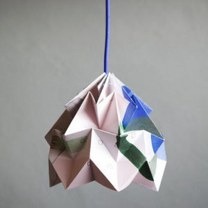 SNOWPUPPE - moth - suspension papier tas-ka rêve ø20cm | suspe - Suspension