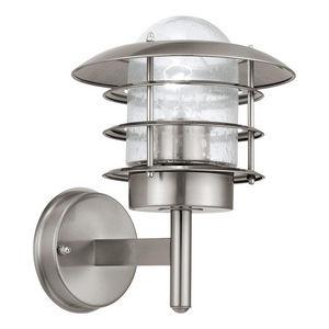 Eglo - mouna - applique d'extérieur acier h26cm | appliq - Applique D'extérieur