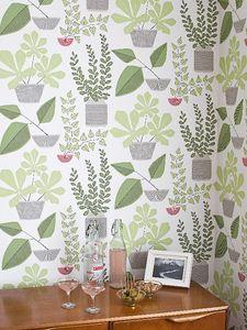 MissPrint - house plants - Papier Peint