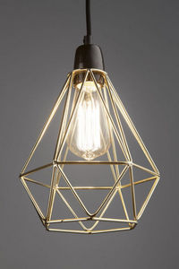 OLD SCHOOL ELECTRIC - diamond filament pendant - Suspension
