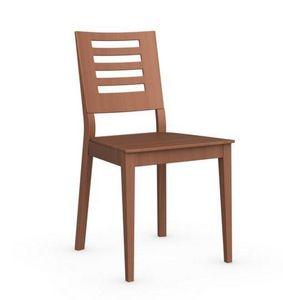 Calligaris - chaise italienne style de calligaris merisier - Chaise