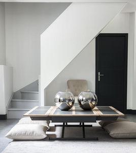COTE DESIGN -  - Table Basse Carrée