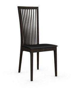 Calligaris - chaise philadelphia de calligaris structure wengé - Chaise