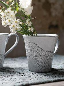 BLANC MARICLO -  - Vase À Fleurs