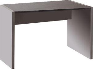 WHITE LABEL - bureau 80 cm en bois coloris gris et chêne anthrac - Bureau