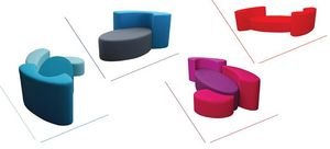 FRED H DESIGN - öze- - Canapé 2 Places