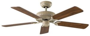 EVT/ Casafan - Ventilatoren Wolfgang Kissling - ventilateur de plafond blanc dc, imp�rial, � compo - Ventilateur De Plafond