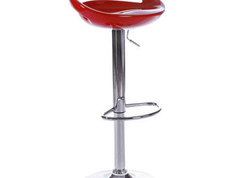 KOKOON DESIGN - tabouret de bar vénus rouge - Chaise Haute De Bar