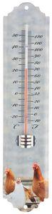 Esschert Design - thermomètre mural poule poule - Thermomètre
