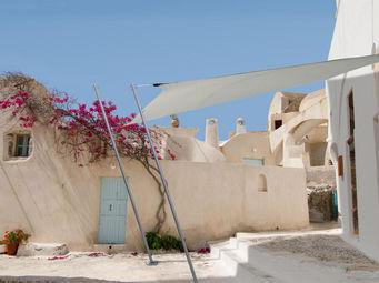 Ideanature - voile d'ombrage carrée 2,90 mètres - Voile D'ombrage