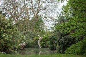 ROBERT ARNOUX - l'homme-joie - Sculpture