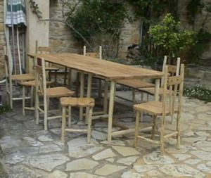 ALAIN DUPASQUIER -  - Table De Jardin