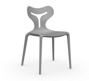 Calligaris - chaise empilable area 51 de calligaris grise - Chaise