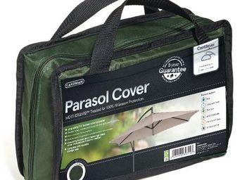 GARDMAN - housse de protection parasol déporté vert - Parasol