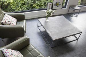 LYON BÉTON - perspective coffe table xl - Table Basse Carrée