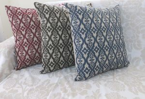 ITI  - Indian Textile Innovation - geometric - Coussin Carr�