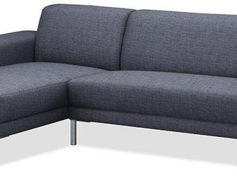Delorm design - canapé d'angle eliott grey angle droit - Canapé Modulable