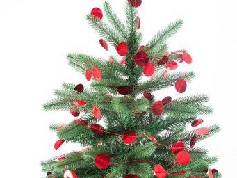 MY LITTLE DAY - guirlande mylar pois rouges - Guirlande De Noël