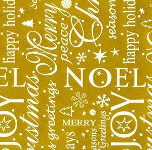 BEAUMONT GROUPE - noel - Papier Cadeau
