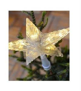 Blachere Illumination - cimier étoile blanc chaud - Etoile De Noël