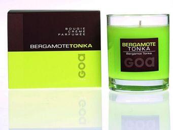 CLEM - bougie crème goa bergamote tonka - Bougie Parfumée