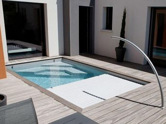 CARON PISCINES - 'smart cover - - Couverture De Piscine Automatique