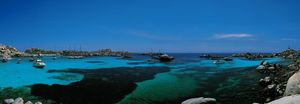 Nouvelles Images - affiche îles lavezzi corse - Affiche